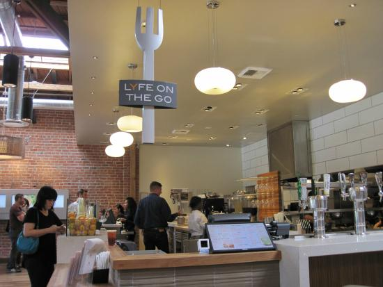 Take away or eat-in at Lyfe Cafe (28/Jul/15). - Picture of ...