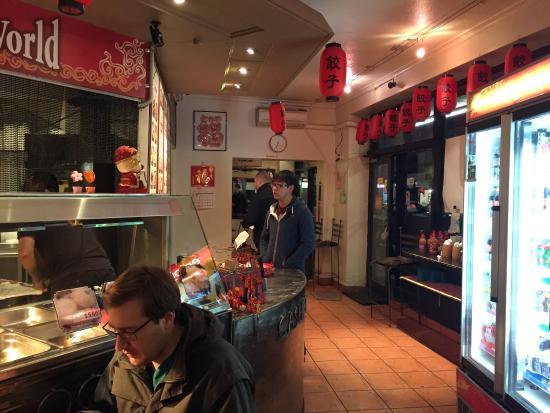 Inside Dumpling World