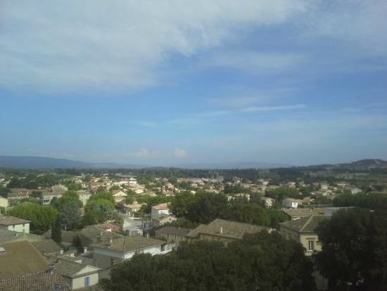 Chateau de Vedene : Uitzicht