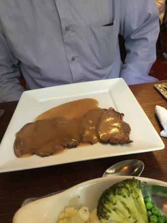 Weston Cross Inn: Roast Beef