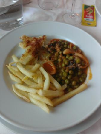 Grand Hotel Biancaneve : es. 2° piatto (non ancora toccato)