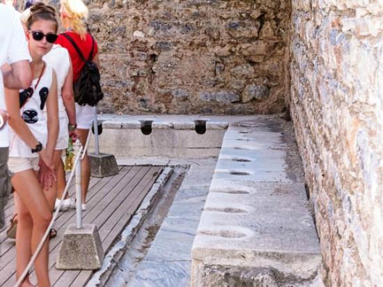 Römisches WC - Picture of Public Latrine, Selcuk - TripAdvisor