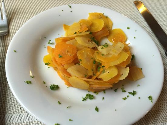 Reillanne, Γαλλία: Carrot salad