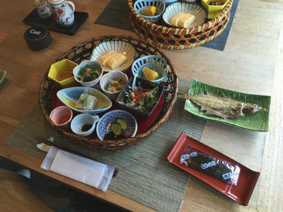 Jukaitei : 寿海亭 朝食