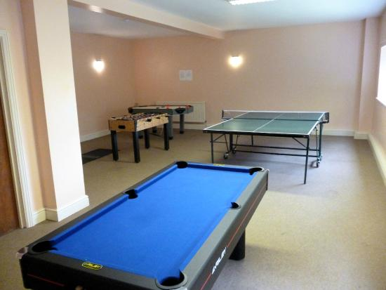 Uley, UK: Games Room