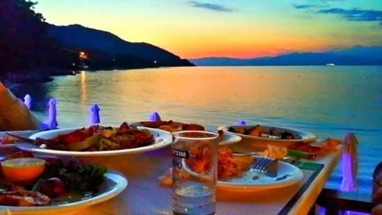 East Macedonia and Thrace, Yunani: Sunset in Papalimani