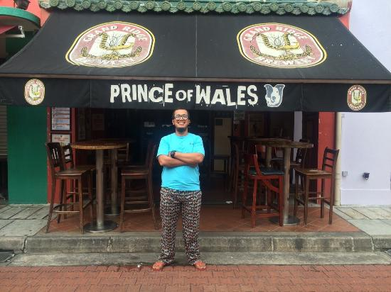 Prince of Wales Backpacker - Boat Quay : for keepsake