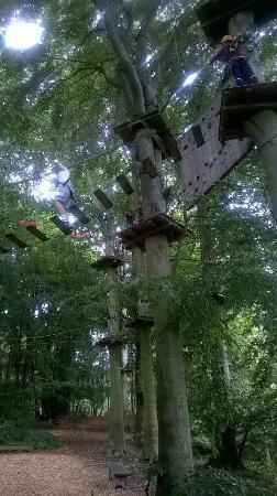 High Spirits Wald- und Naturhochseilgarten