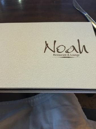Noah Restaurant & Lounge : Name of the place