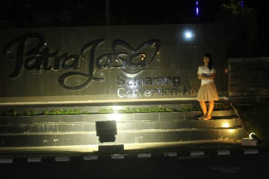 Patra Semarang Convention Hotel: Nice view once you arrive