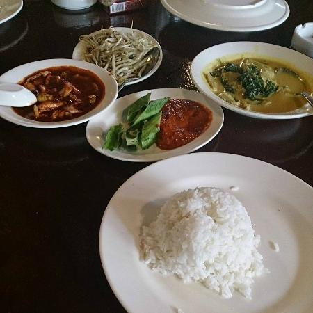 All Available In The Menu Picture Of Aunty Aini S Garden Cafe