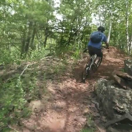 Cuyuna Country State Recreation Area: Red dirt fun!