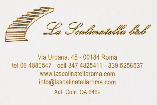 La Scalinatella B&B: Logo