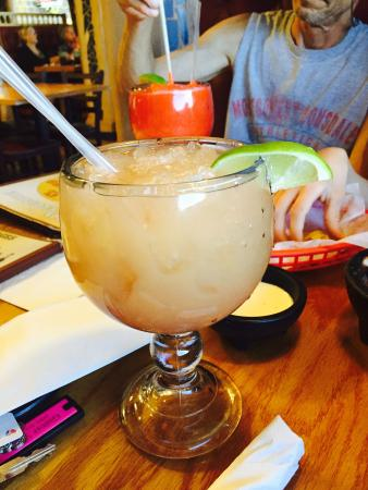 El Toro Mexican Restaurant: Blood Orange Margarita