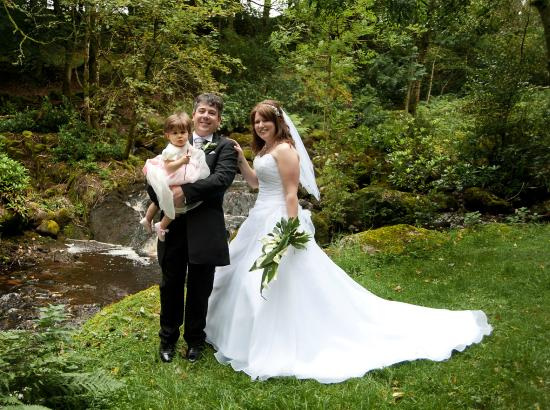 Shap, UK: Wedding Day in the Grounds