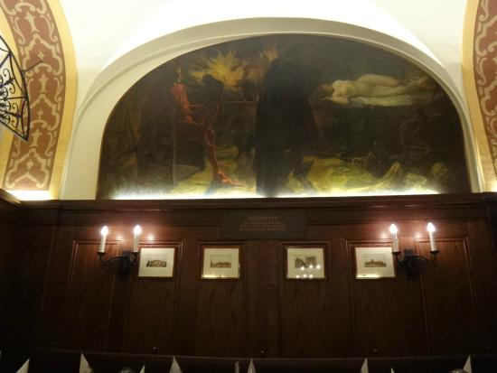 Auerbach's Keller: интерьеры