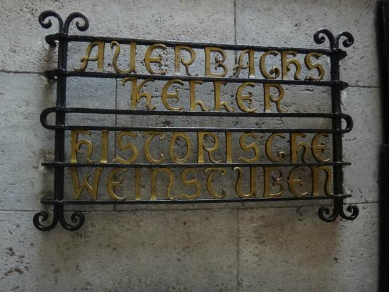 Auerbach's Keller: погребок