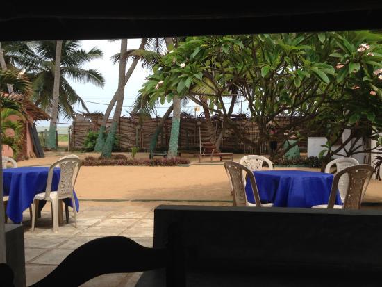 Star Beach Hotel: widok z restauracji w stronę oceanu
