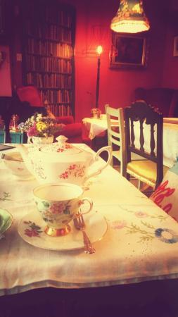 Longtown, UK: Lovely teacups.