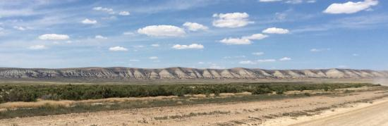 Rock Springs, WY: Last view from rise in the road.  Taken from the 'short cut'.