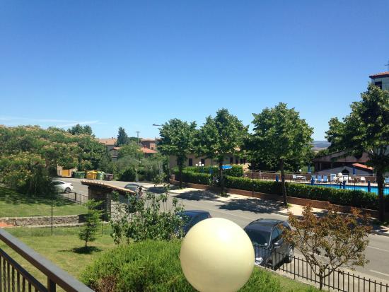 Albergo di Murlo: View of the pool!