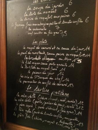 Menu 02 august 2015 photo de le jardin d 39 en face paris for Jardin lee menu