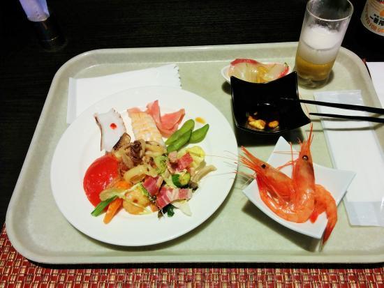 Hotel Harvest Amagi Kogen: 夕食ブッフェ