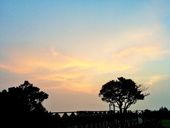 Hotel Harvest Amagi Kogen: 美しい夕焼け