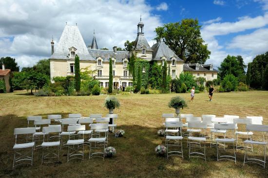 Chateau Le Mas de Montet: Our wedding at Le Mas De Montet