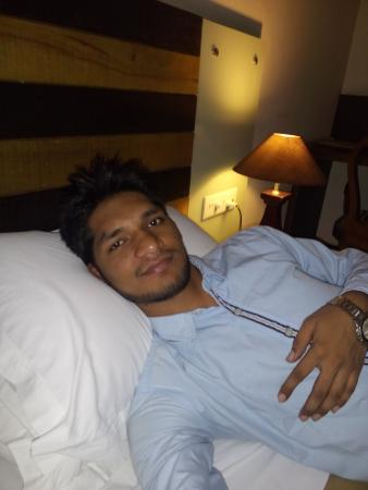 Hotel Residency Palace: At bed