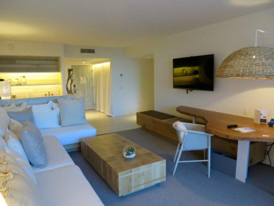 One Bedroom Suite Living Area Picture Of 1 Hotel South Beach Miami Beach Tripadvisor