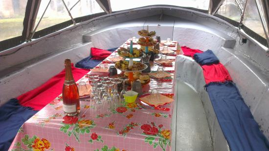 Bbq Boot Utrecht.High Tea While Cruising The Canals Of Utrecht Picture Of