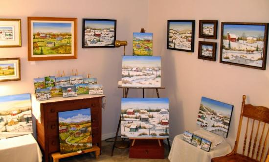 Hemmingford, Canada: Studio-Galerie Sharon Mark   www.sharonmark.com