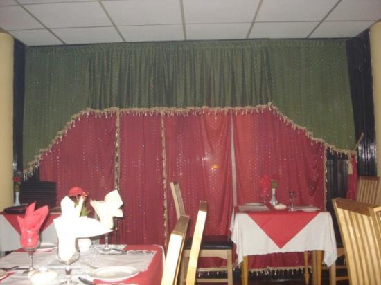 Ashoka Indian Restaurant & Takeaway: small part of restaurant