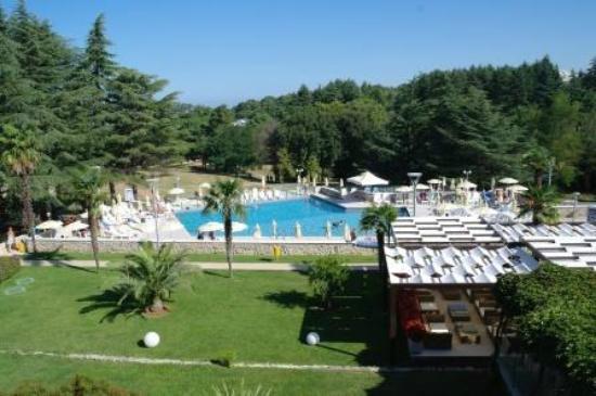 Hotel Laguna Mediteran: Hotel Mediteran Pool Area