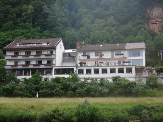 Neckarsteinach, Германия: Отель