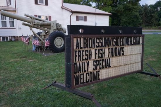 Albion's Sunnyside Diner