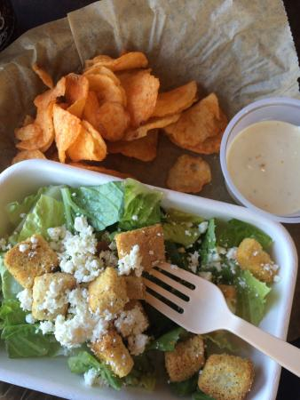 Boloco: Expensive for what you get, salad I could have done bag! Burrito was so so all for $17