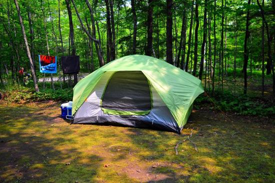 Door County Camping Retreat: Campsite