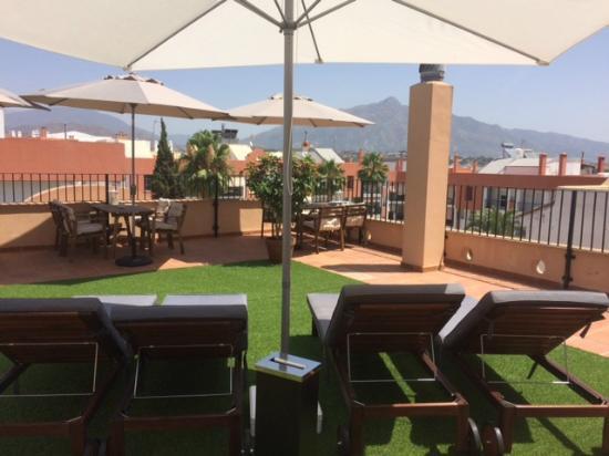 Hotel Dona Catalina: Roof Sun Terrace