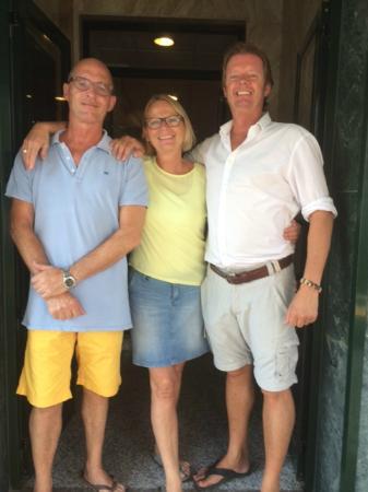 Hotel Dona Catalina: Helena, Kees and Paul