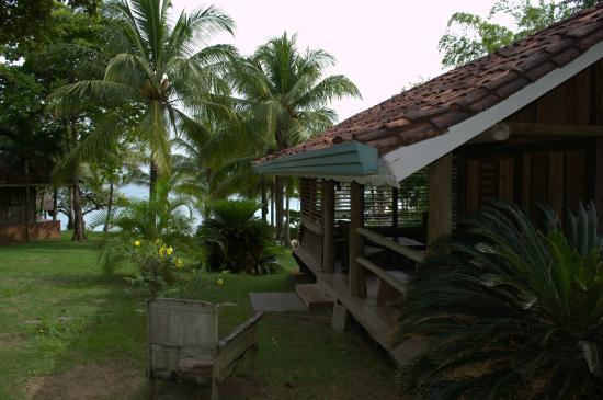 Posada Los Destiladeros : Vista parcial de la cabaña