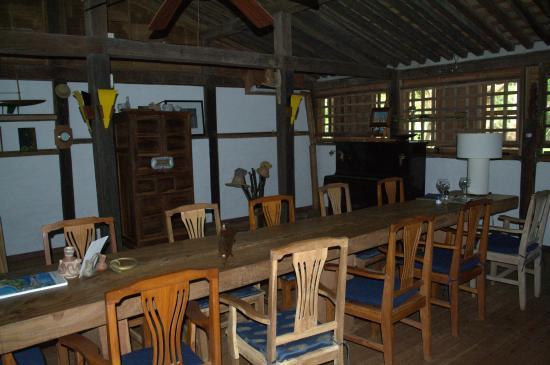 Posada Los Destiladeros: Vista de parte del restaurant