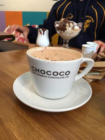 Chococo: Little expensive but worth it. Delicious
