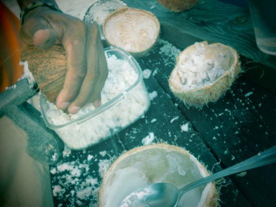 Joe Jo's By The Reef: Yummy Coconuts