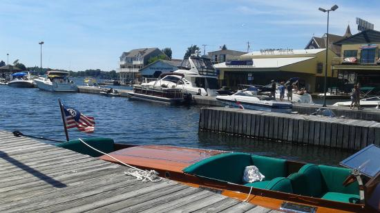 Coleman's Dock of the Bay: Waterfront view