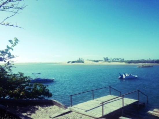 Aguas Belas: Pier do Hotel