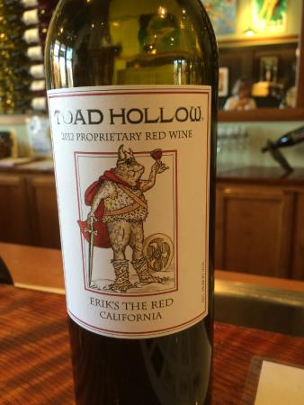 Toad Hollow Vineyards : Erik's the Red (aka Eirik Raude)