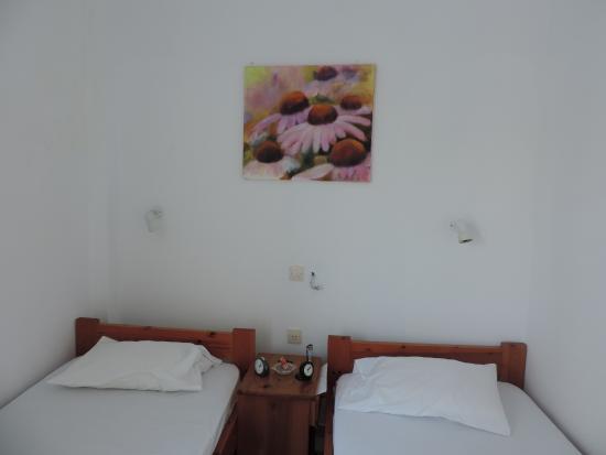 Hotel Sanoudos : notre chambre