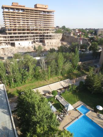 Hrazdan Hotel : Aussicht Zi 94